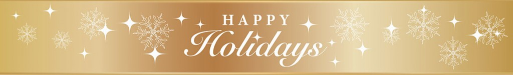 Le Reve Happy Holidays Banner